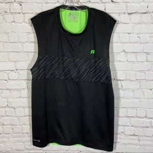 Russell DRI-POWER® MESH PERFORMANCE MUSCLE L